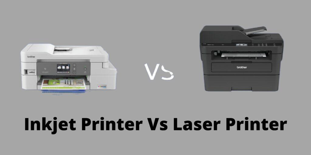 Inkjet Printer vs Laser Printer